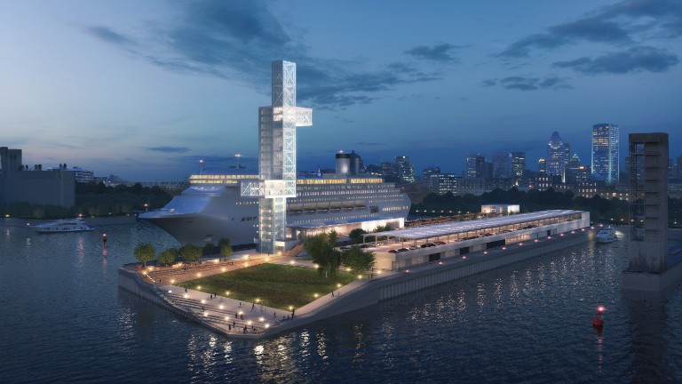 revamping the alexandra pier and cruise terminal montreal s 375th