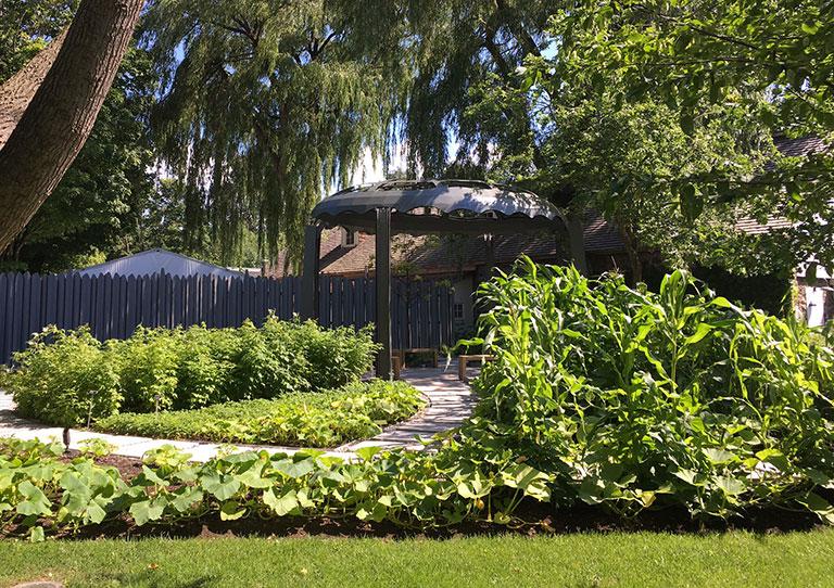The Jardin des origines.