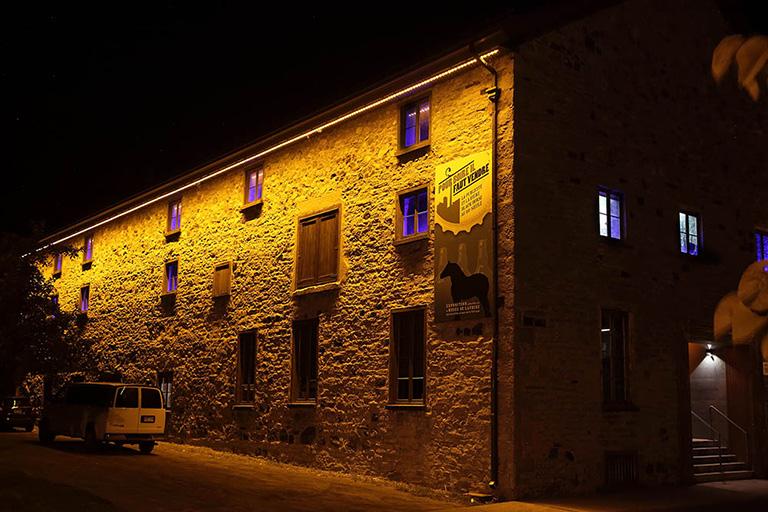 Le Vieux-Lachine tout en lumière.