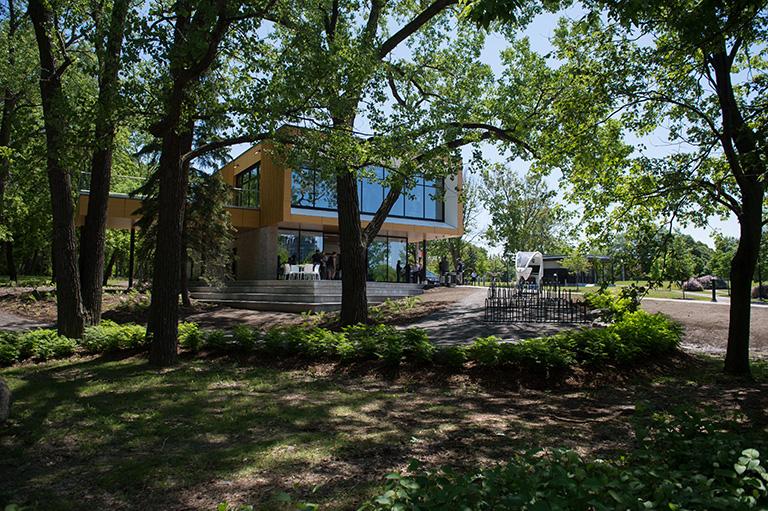 Parcours Gouin reception pavilion