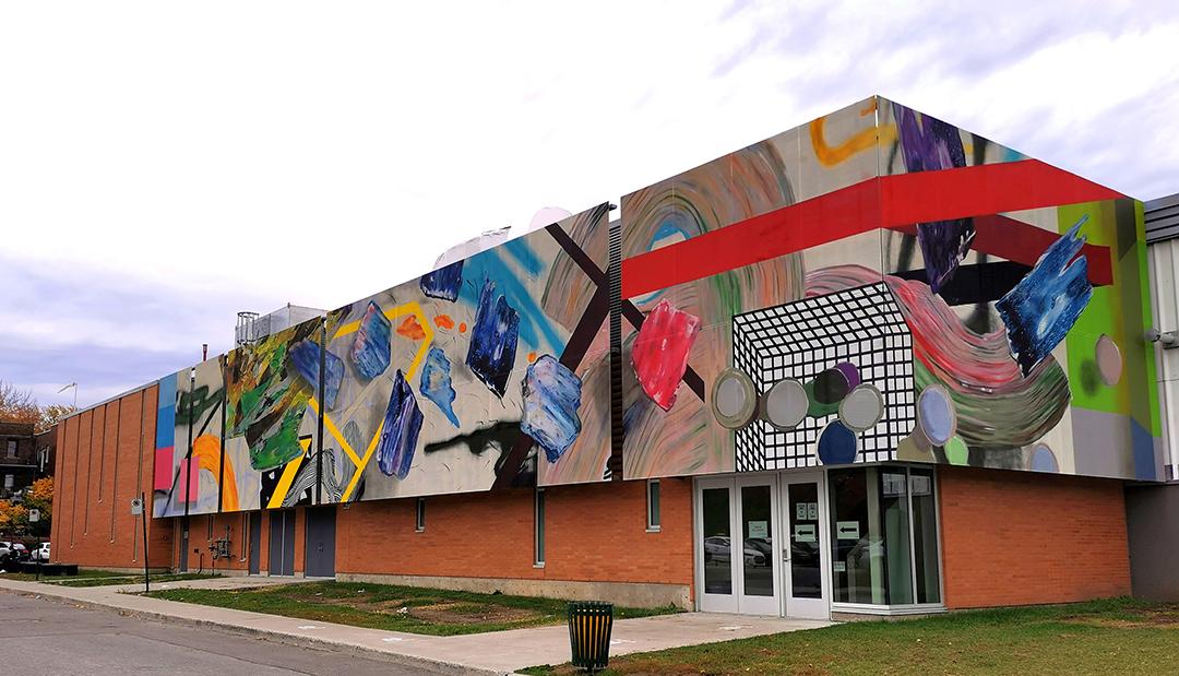 Murale située au 999 avenue McEachran